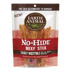 Earth Animal No Hide Beef Stix Dog Treats, 10 Pack