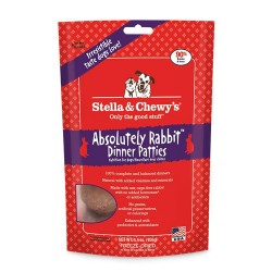 Stella & Chewys-Freeze-Dried Absolutely Rabbit Dinners for Dogs - 5.5oz