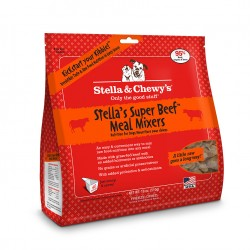 Stella & Chewys Dog Freeze Dried Super Blends Meal Mixer Beef