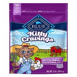 Blue Buffalo Cat Kitty Craving Crunchy Chicken 2 Oz