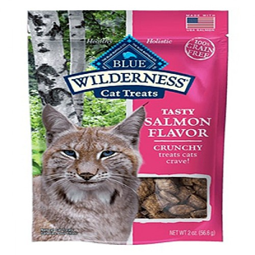 Blue Buffalo Cat Wilderness Gf Crunchy Salmon 2 Oz