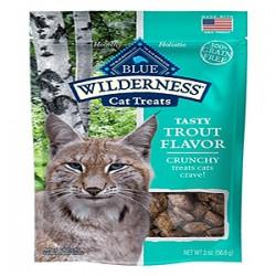 Blue Buffalo Cat Wilderness Gf Crunchy Trout 2 Oz