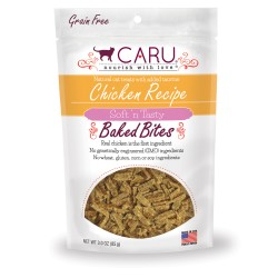 Caru Cat Natural Chicken Recipe Bites 3oz