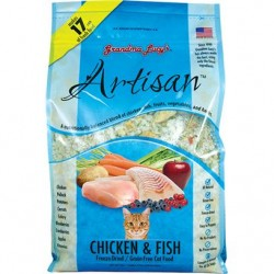 GRANDMA LUCYS CAT ARTISIAN GRAIN FREE CHICKEN &FISH 3 LBS
