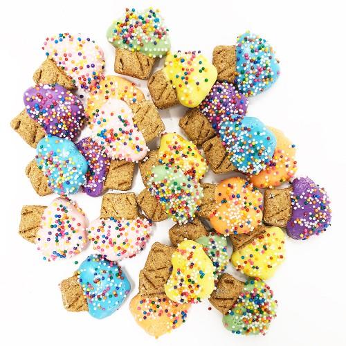 Pet Life Mini Muffin Shaped Whole Wheat Oat and Yogurt Dog Biscuits