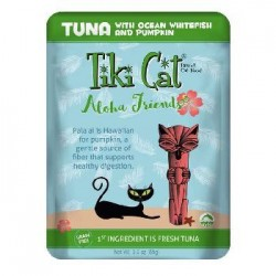 Tiki Pets Cat Aloha Tuna Whitefish 3 Oz. Pouch