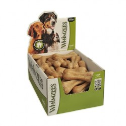 Whimzees Rice Bone Dental Dog Treats in POP Display Box