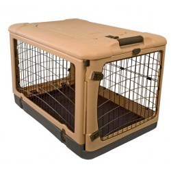 The Other Door Steel Crate - Tan
